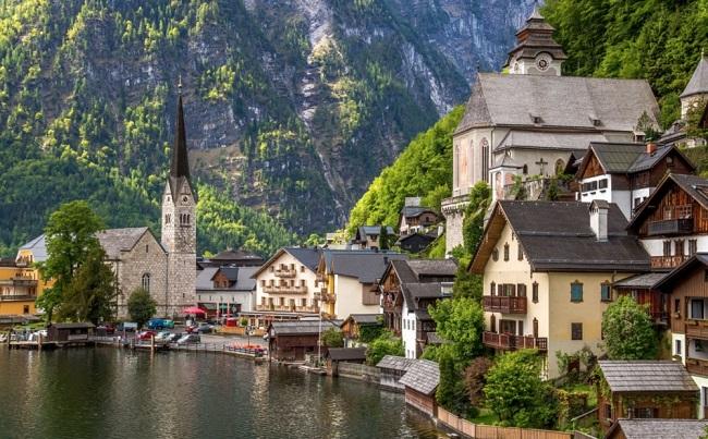 Удивительные деревни и города, впечатляющие своей красотой, 20 фото