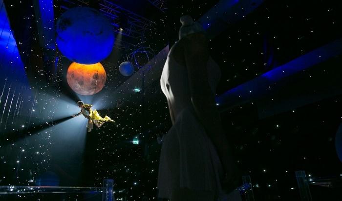 Захватывающие фото космической свадьбы