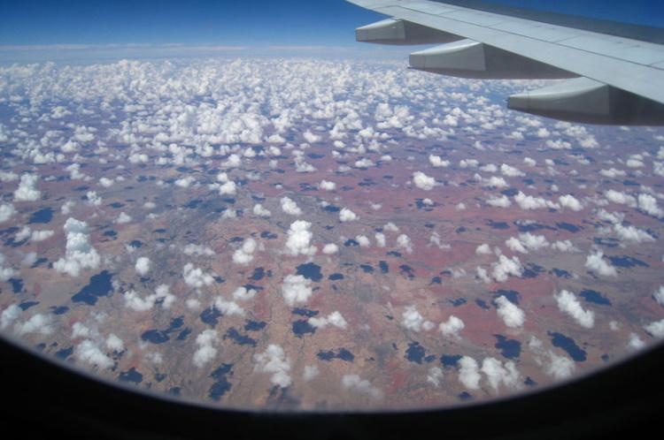 Незабываемые пейзажи, которые можно увидеть из окна самолета, 30 фото