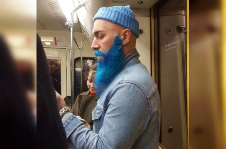 40 фотодоказательств того, что в метро можно встретить самых экстравагантных людей