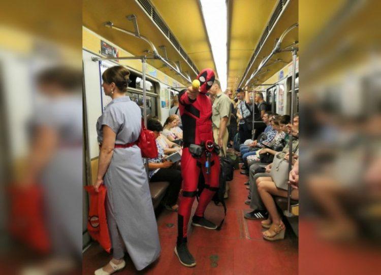 Странные люди из российского метро, 30 фотодоказательств
