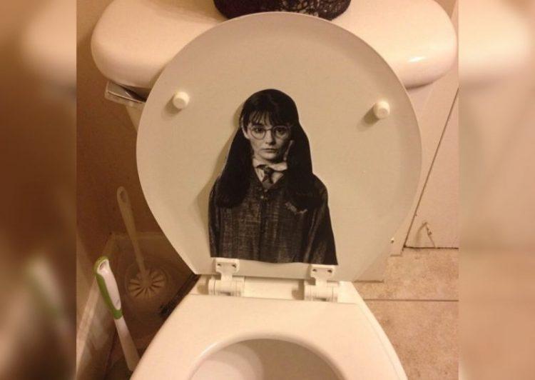 Странные вещи в мужских ванных комнатах: 30 фото