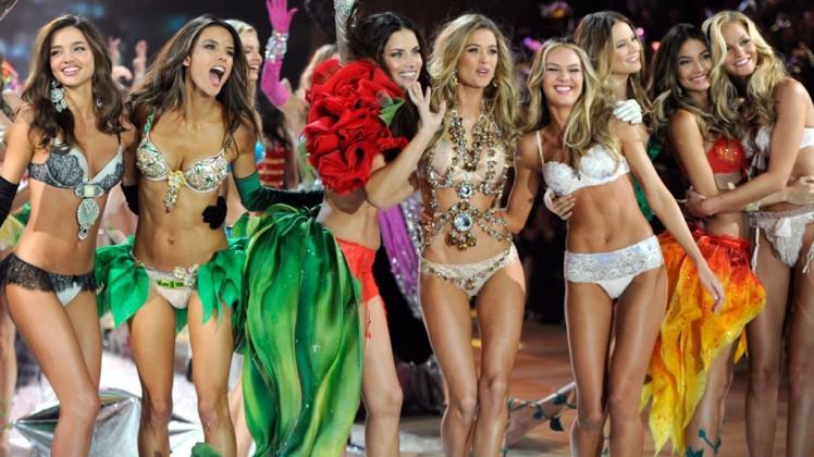 """Прекрасные и блистательные """"ангелы"""" Victoria's Secret, 35 фото"""