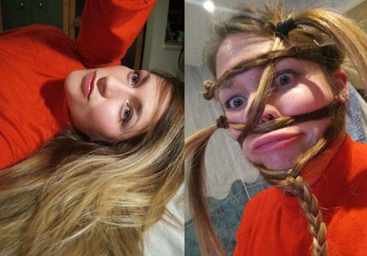 Красивые девушки делают некрасивые селфи или как не надо фотографировать себя